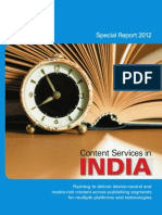 Content Services in India 2012