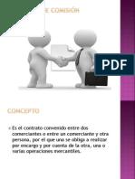 Contrato De Comisión Mercantil pre