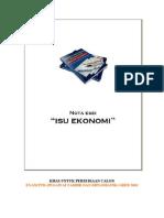 Nota Esei Exam PTD M41 - Isu Ekonomi