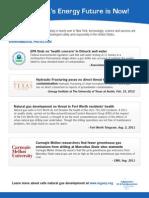 2012 IOGA of NY Natural Gas Fact Sheet
