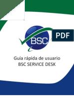 Guia BSC Service Desk