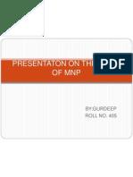 Mnp Presentation