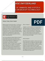 The Impact of VMware and Hyper v Snapshots on Backup Technology Handout
