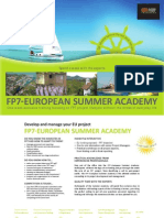 2012 Summer Academy