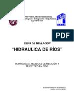7.- HIDRAULICA DE RIOS