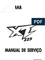 XT 225 Manual Serviços