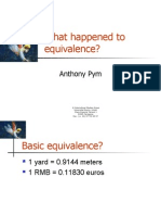 01 Equivalence