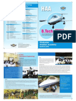 Brochure HAA -IGNOU -B.tech Aerospace Engineering