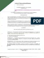 Acuerdo 019-2003 consejo academico