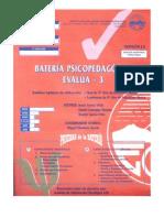 cuadernillo EVALUA 3
