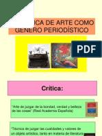 CRITICA DE ARTE. Practicas Criticas (Teorico - 23-04-12)