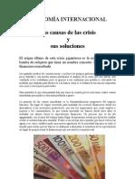 Las Causas de Las Crisis