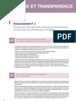 Rapport RSE 2011 - Ethique et Transparence