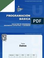 Datos y operadores