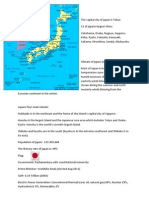 Japan Factfile