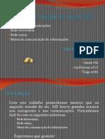 Transportes e Comunicações na segunda metade do Séc. XIX