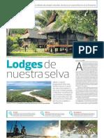 Turismo en naturaleza y amazonía del Perú