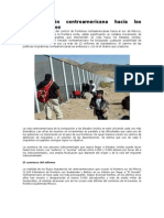 La migración centroamericana hacia los Estados Unidos