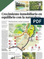 Pachacámac tiene naturaleza y crecimiento inmobiliario para turismo y ecología