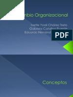 Cambio Organizacional UNID