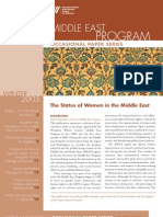 The Status of Women in the Middle East