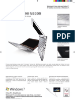 Manual Toshiba NB305