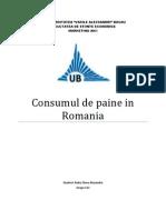 Consumul de Paine in Romania