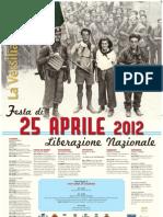 Programma 25 Aprile 2012 a Sant'Anna di Stazzema