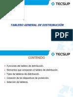 Tablero general de distribución