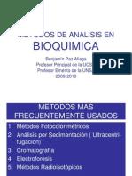 Metodos de Analisis en Bioquimica