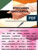 certificados fiduciarios