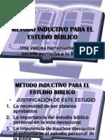 METODO INDUCTIVO PARA EL ESTUDIO BÍBLICO