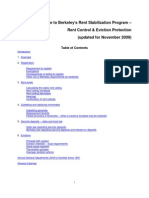 Berkeley Rent Stabilization Board Guide Nov 2009