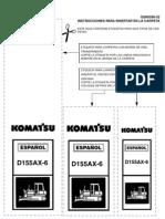 D155AX-6 Manual de Taller