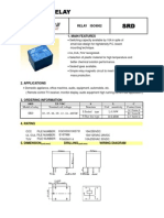 Relay Songle Datasheet