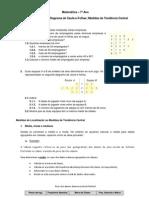 Ficha de Trabalho Diagrama Caule e Folhas e Medidas de Tendc3aancia Central
