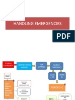 Handling Emergencies Ppt Fordec Nits