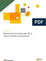 Symantec Malware Threat Landscape