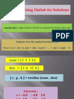 'MatLab Control Applications2003