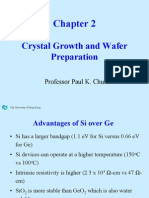 Crystal Growth and Wafer Preparation