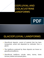 Glaciofluvial and Glaciolacustrine Landforms