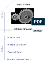 Basic of Gears