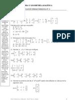 Matrices y DeterminantesUTN-PRACTICA