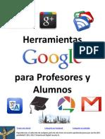 Herramientas Google Para Profesores y Alumnos