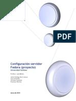 Configurar Servidor Fedora