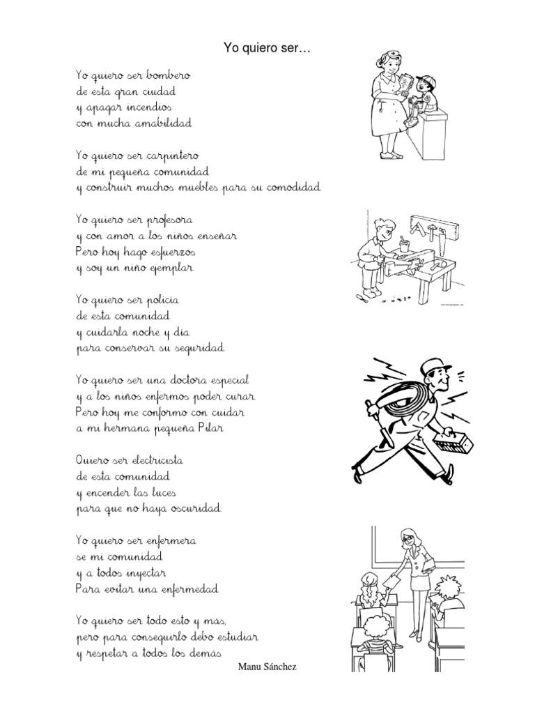 Poes a sobre las profesiones for El gran manual del cocinero pdf