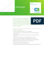 CA Capacity Manager