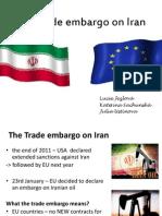 Trade Embargo on Iran