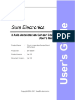 3-Axis Low-g Accelerometer MMA7260