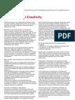 A Creativity i Creativity. David Parrish